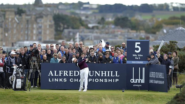 Tyrrell Hatton retains Dunhill title, Ross Fisher shoots record 61 at Old Course