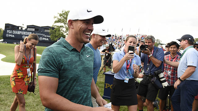 Three-time Major Champion Brooks Koepka captures PGA Player of the Year Award