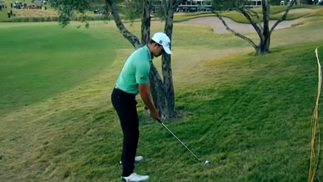 Here's how to wrap a hook shot around a tree to save a stroke like Patrick Cantlay did to win the Shriners Open