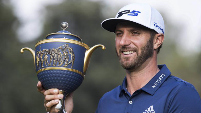 Dustin Johnson is No. 1 in the world and playing like it