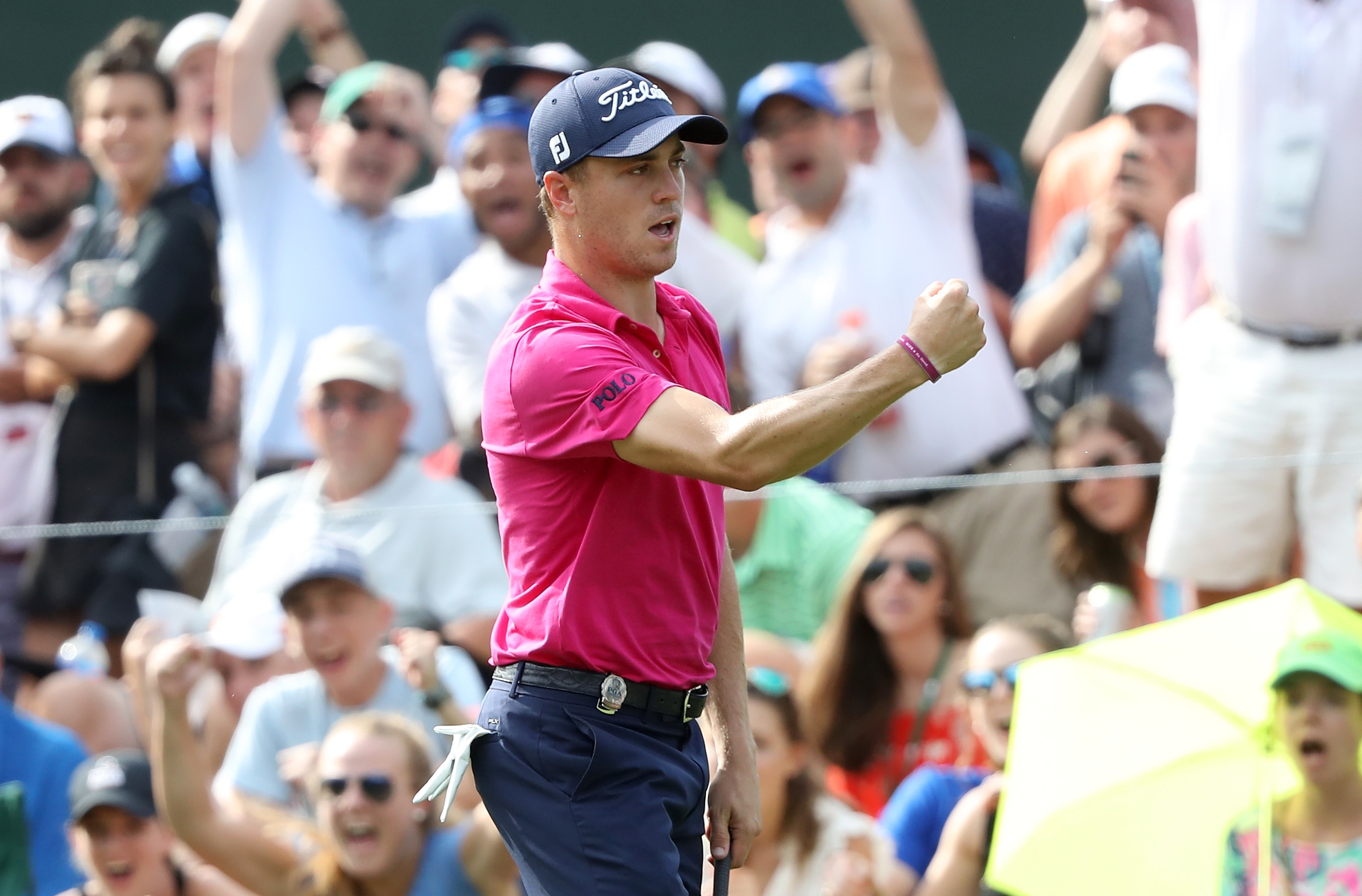 Justin Thomas picks the right major at the right time to win