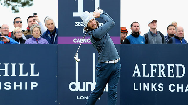 Tommy Fleetwood shoots record 63 at Carnoustie in Dunhill Links