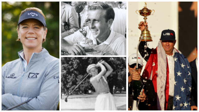 Davis Love III, Annika Sörenstam, Dave Marr II and Shirley Spork lead inductees into the PGA of America Hall of Fame