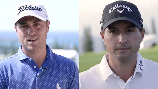 Justin Thomas, Kevin Kisner place friendly wager on CFP National Championship game