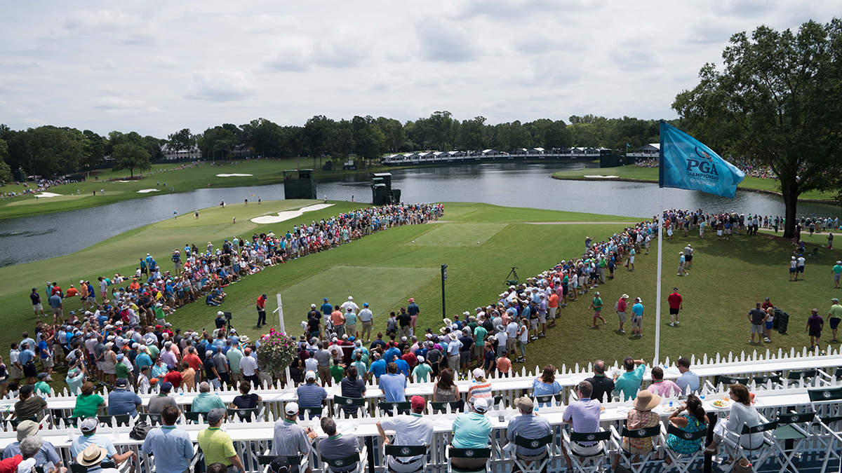 Five great spots for PGA Championship spectators at Quail Hollow