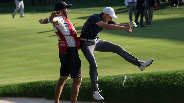 7 best golf celebrations of 2017