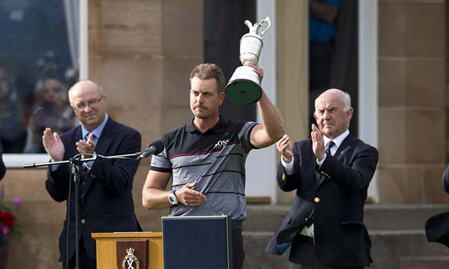 Henrik Stenson dedicates Open win to friend who died of cancer
