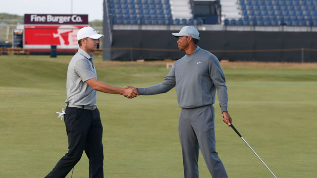 Tiger Woods, Jordan Spieth compare lists of runners-up in early career