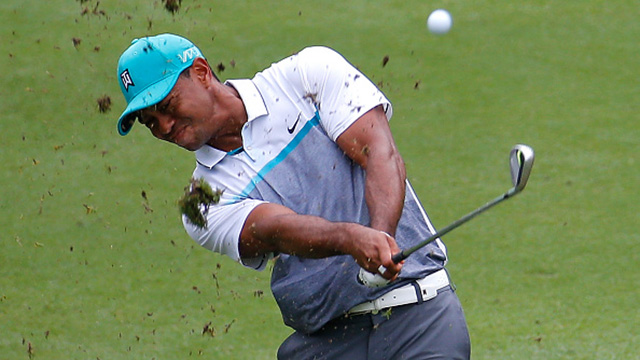 Woods posts lowest round in 2 years at Wyndham