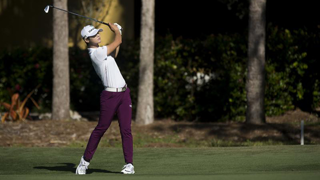 Sung Hyun Park opens 3-shot lead in LPGA Tour Championship