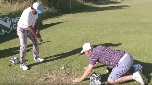 European Tour stars give amateurs hilarious, terrible swing tips