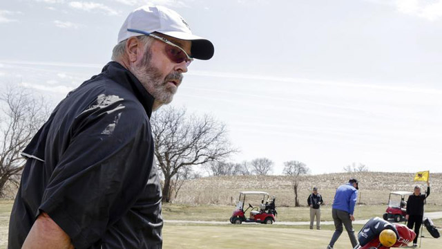 What it's like to be a 61-year-old freshman on a college golf team