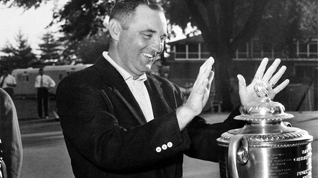 Doug Ford won the PGA Championship in 1955.