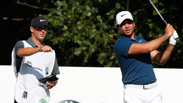 Jason Day finds his groove at BMW Championship with close friend on the bag