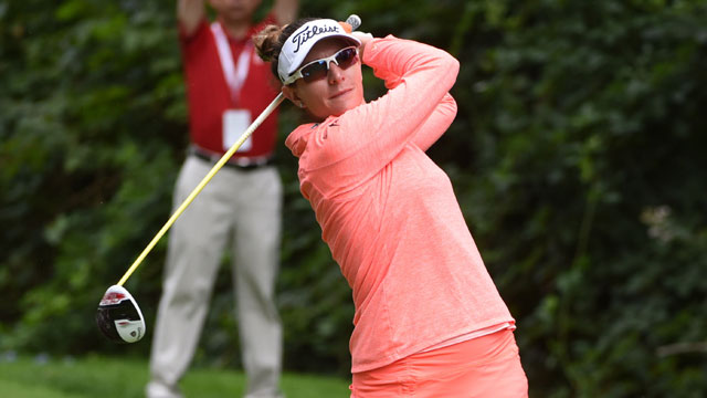 Brittany Lang leads Yokohama LPGA Classic by two after hot start