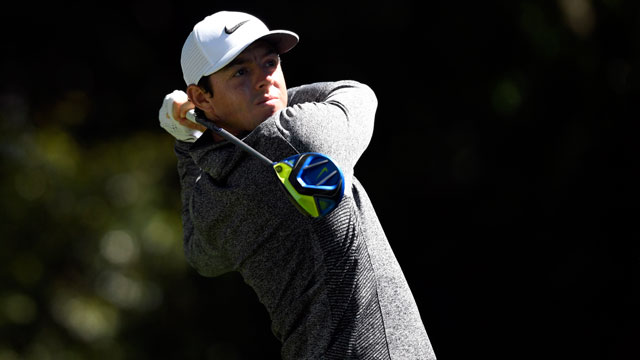 Rory McIlroy roars back into thick of things in second round of Masters
