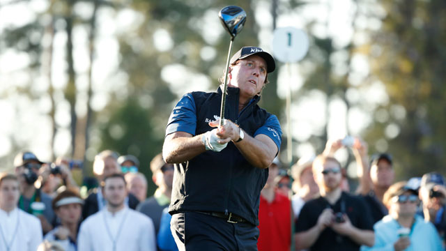 Three-time Masters champ Phil Mickelson flying under the radar
