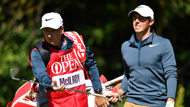 Rory McIlroy to play at least next two events with best friend, Harry Diamond, as caddie