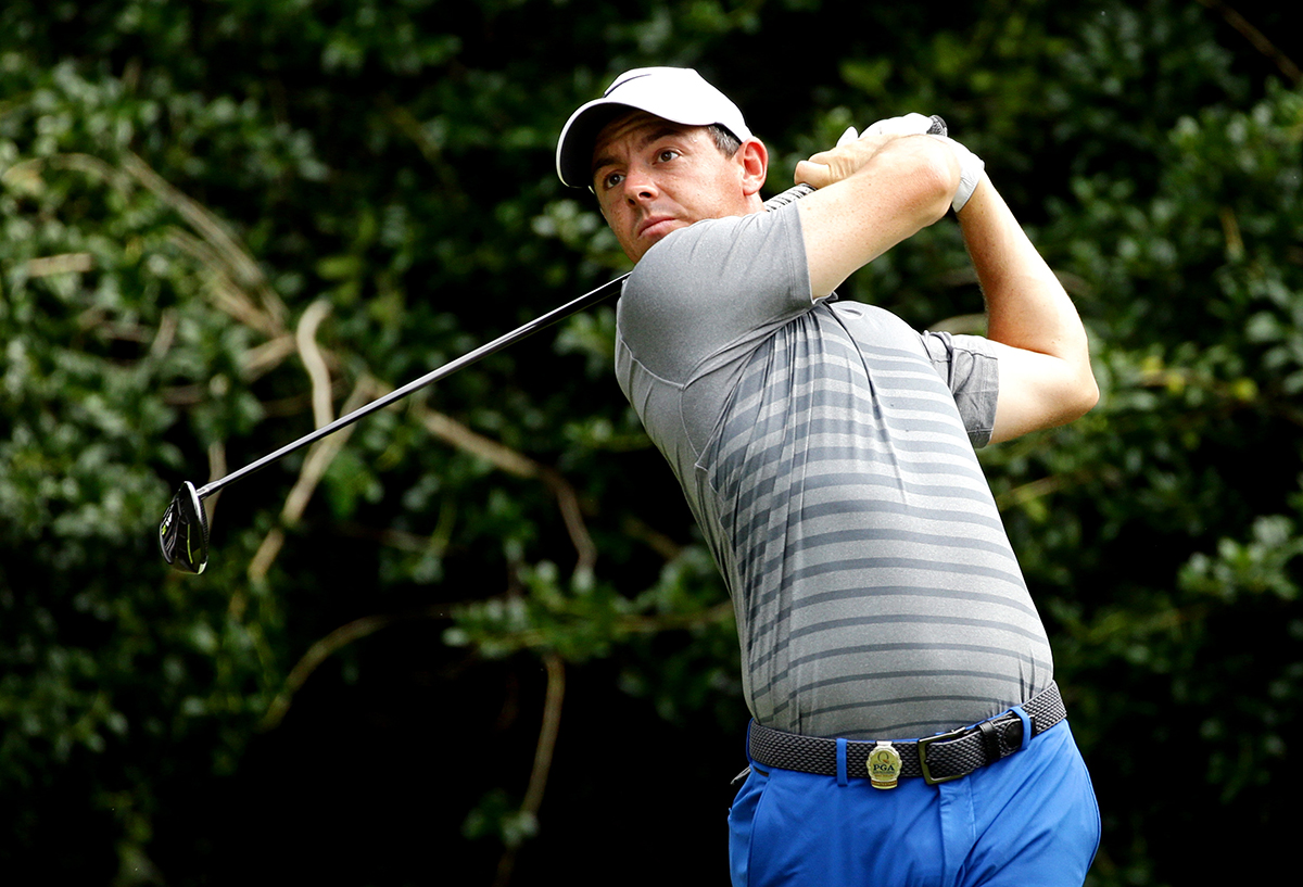 Rory McIlroy feeling comfortable at Quail Hollow for PGA Championship