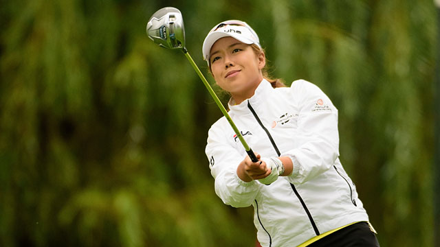 Jenny Shin leads Kia Classic after 65, Lydia Ko tied for second place