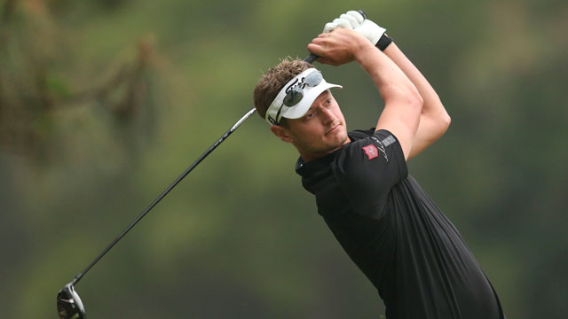 Brett Stegmaier leads after first round of second Web.com Tour Finals event